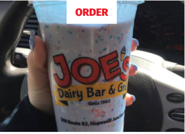 Joe's Dairy Bar and Grill Order Online