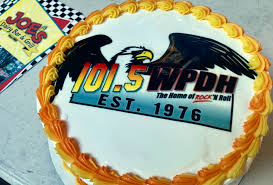 Joe's Dairy Bar and Grill Cake for 101.5 WPDH