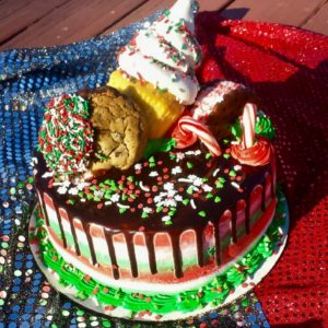 Christmas Freak Cake