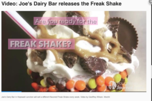 Poughkeepsie Journal Freak Shake Vid