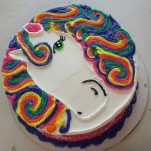 Unicorn Rainbow Round
