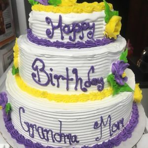 Yellow Lilac Tier