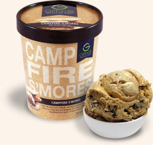 Campfire S'mores Ice Cream