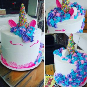 2 Tier 8 Inch Unicorn Cake