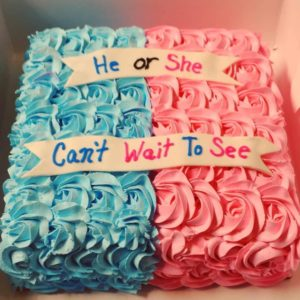 Square Gender Reveal
